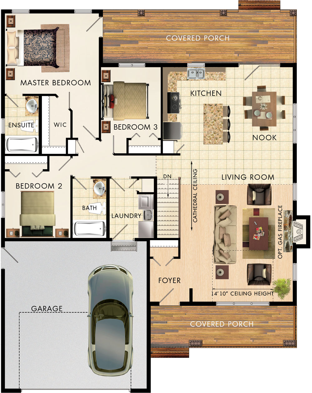 Mapleton Floor Plan