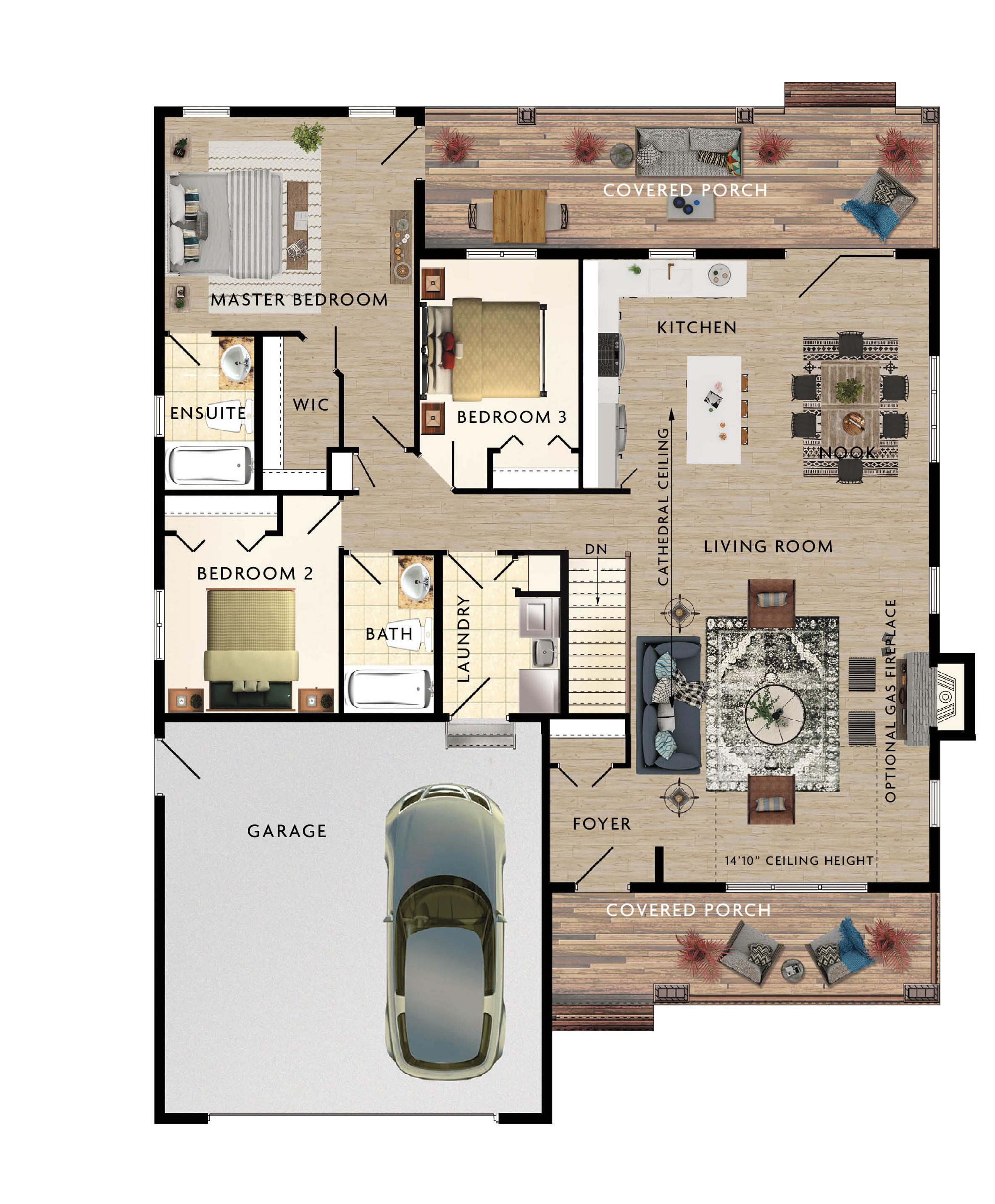 Mapleton Floor Plan