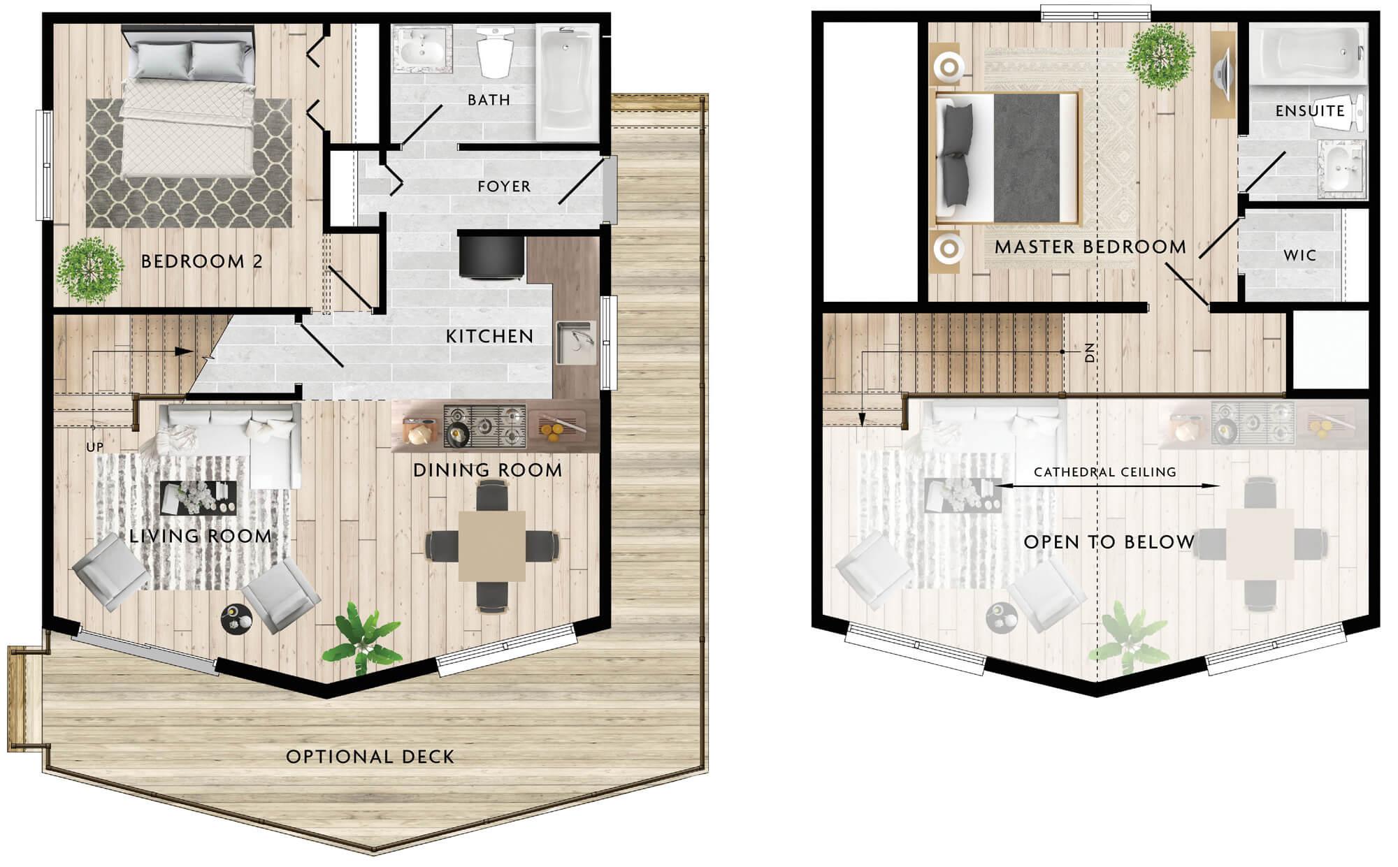 Siloquette II Floor Plan