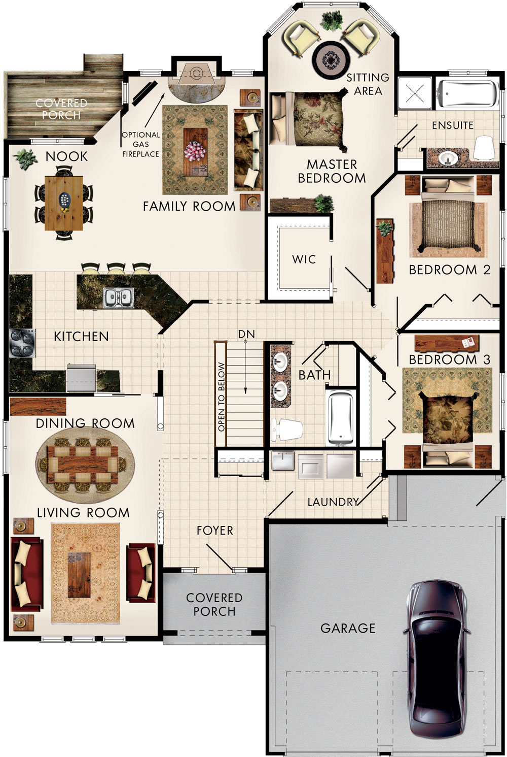 Silver Maple Floor Plan