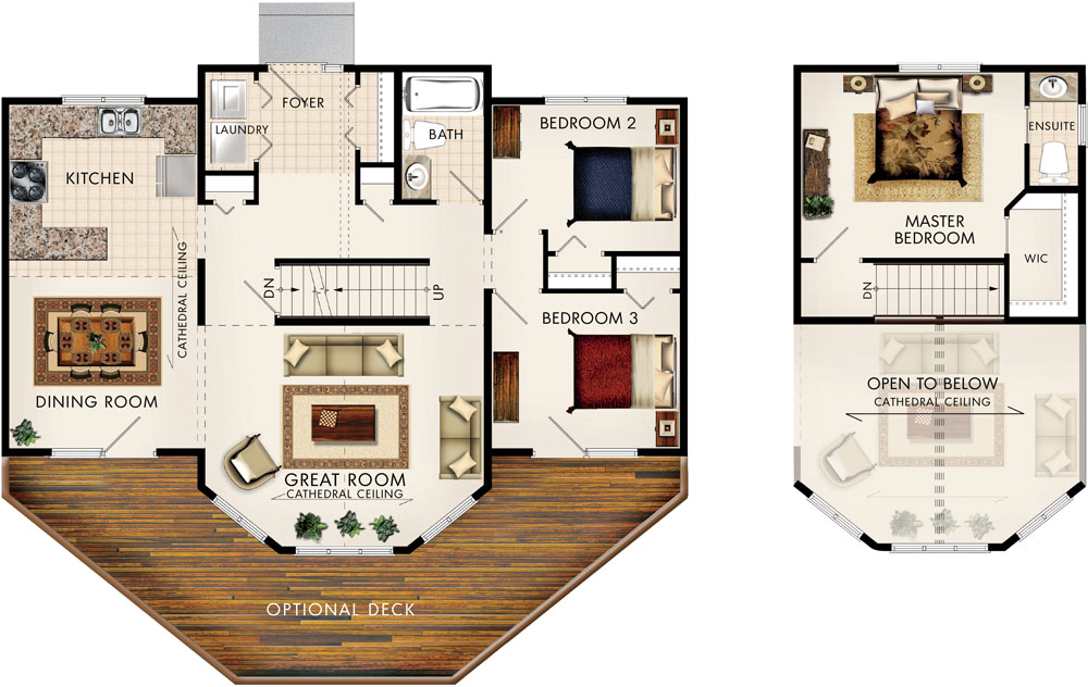 Beaver homes and cottages taylor creek i for Taylor homes floor plans