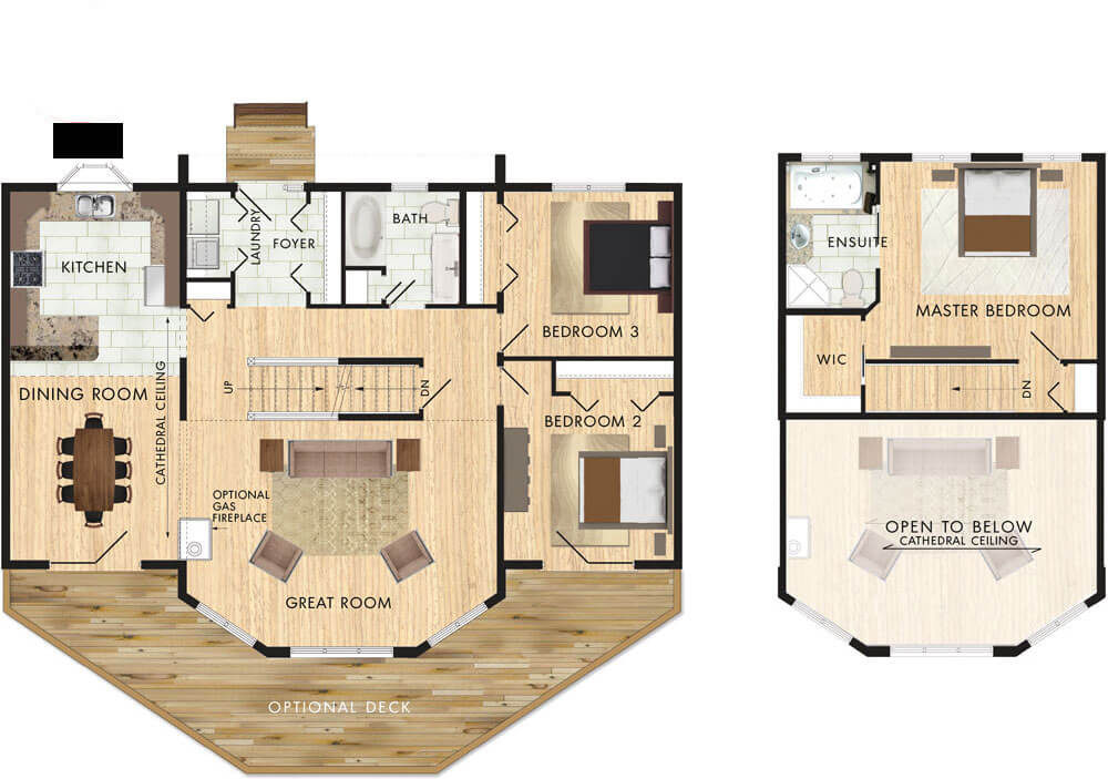 Taylor Creek II Floor Plan