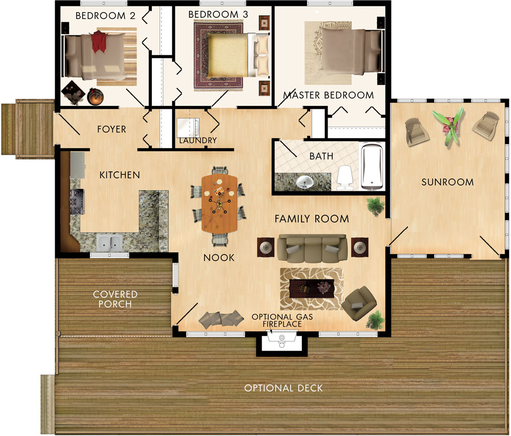 Dorset I Floor Plan