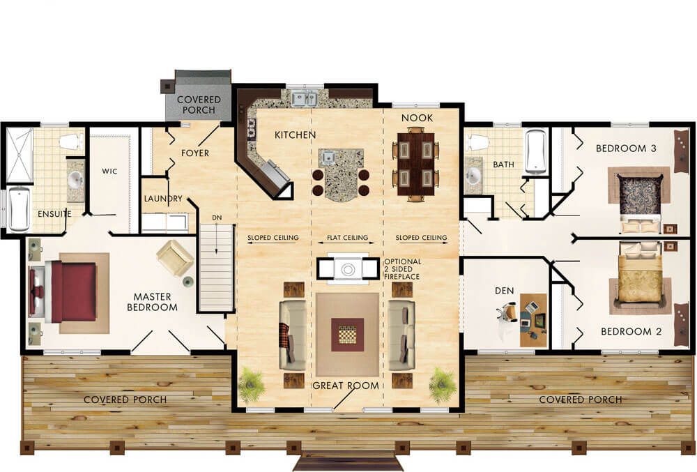 Seguin Floor Plan
