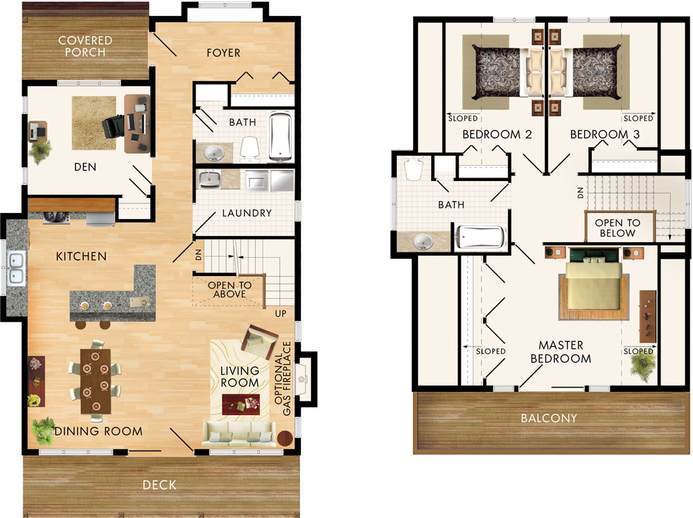 Beaver homes and cottages selkirk for Home hardware floor plans
