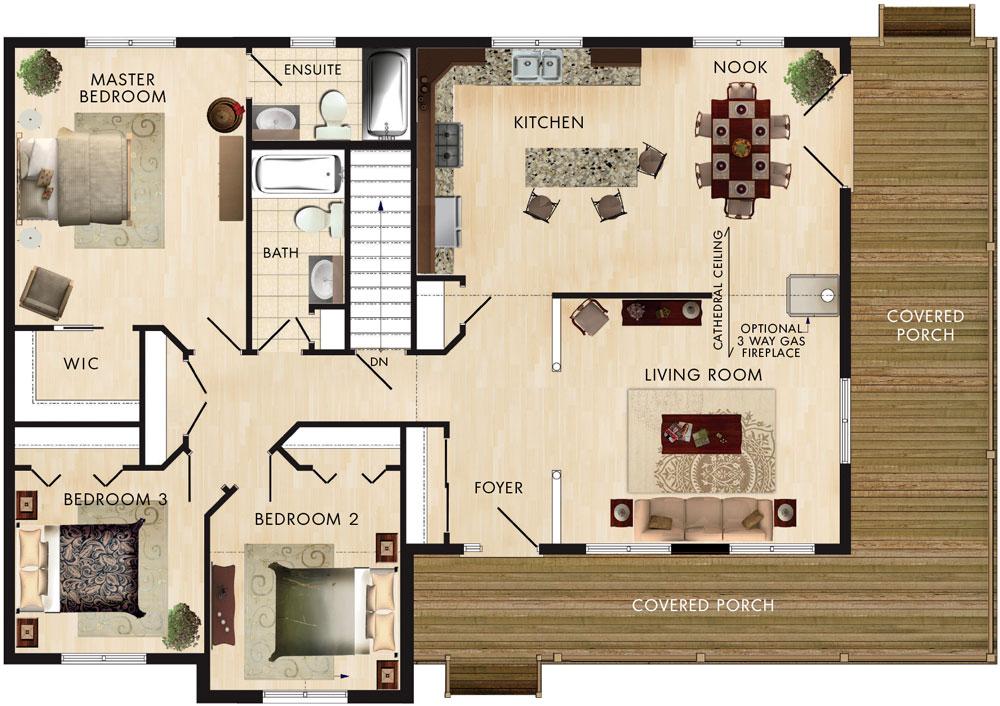 Cortland Floor Plan