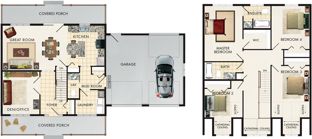Craigleith Floor Plan