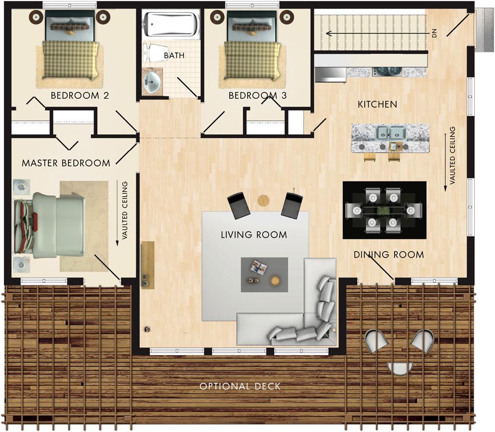 Petit Soleil Floor Plan