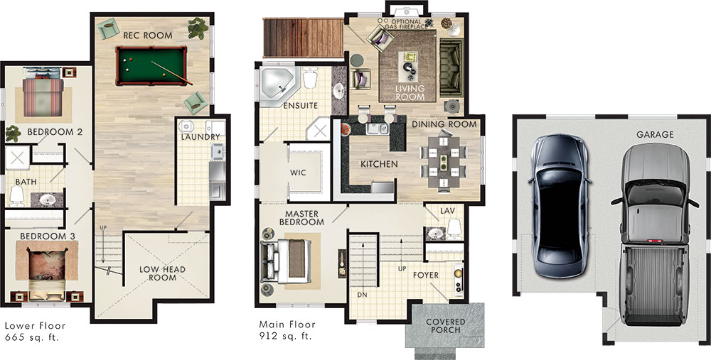 Sobe Floor Plan