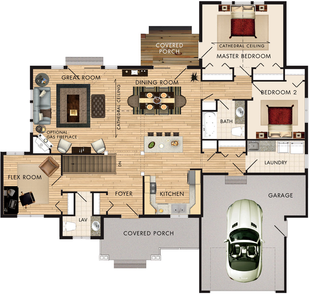 Springbank Floor Plan