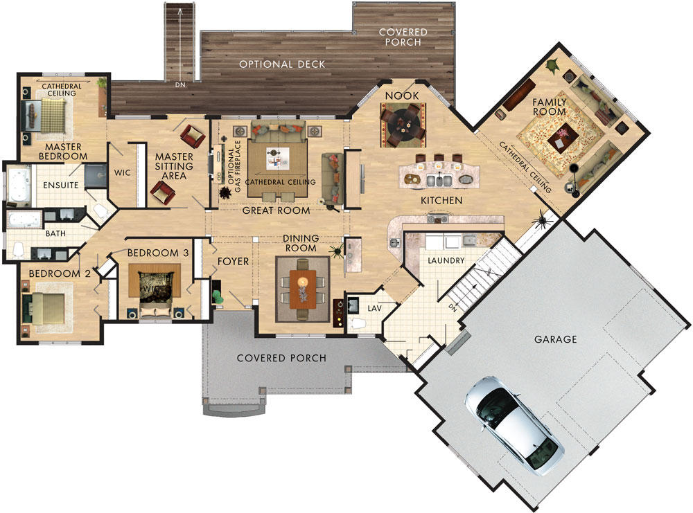 Cranberry Floor Plan