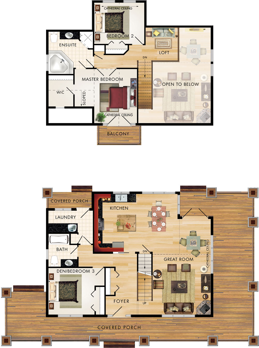 Limberlost Floor Plan