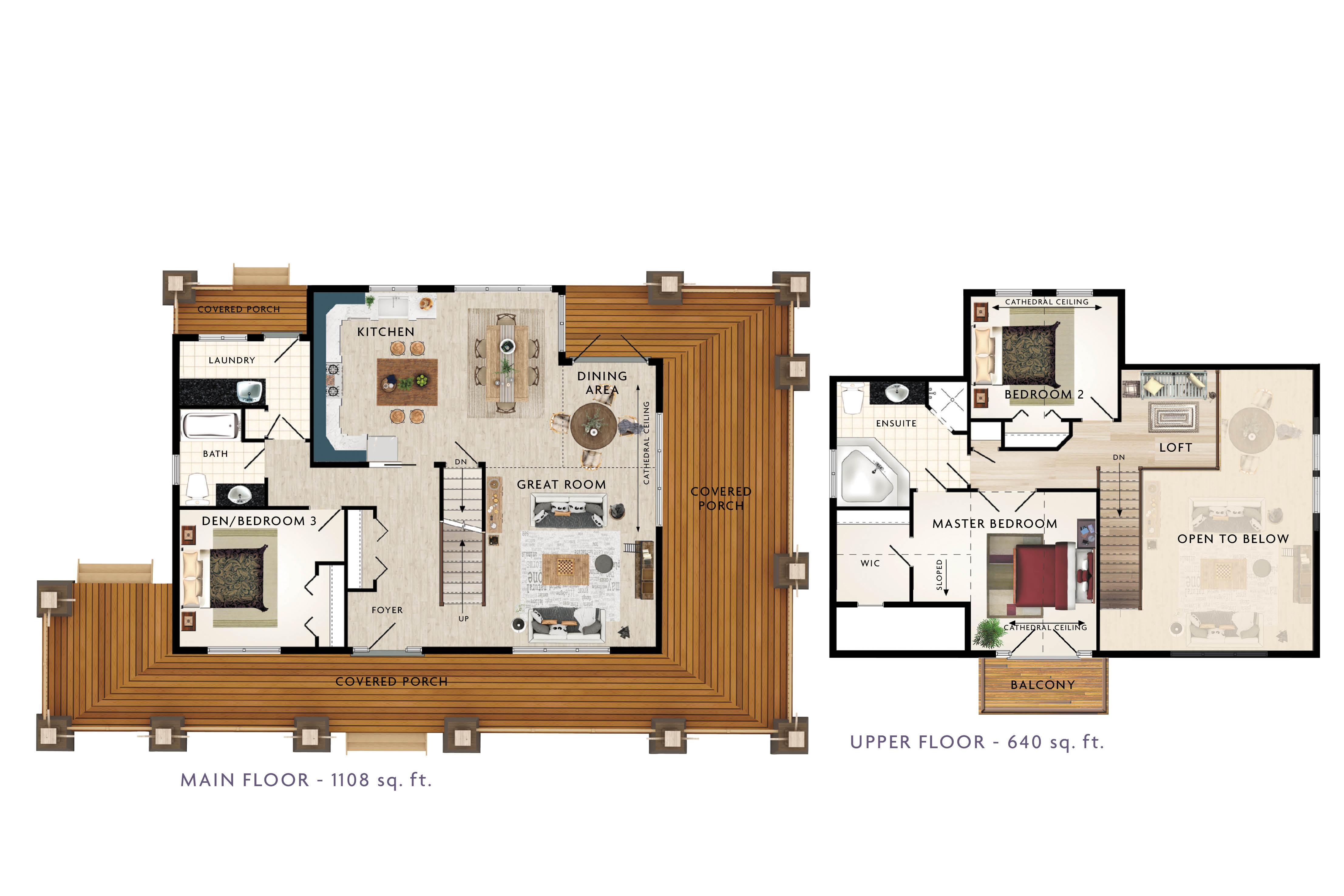 Limberlost Floor Plan