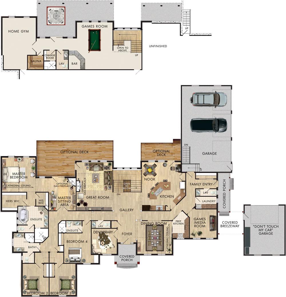 Beaver homes and cottages friarsgate for Data center floor plan