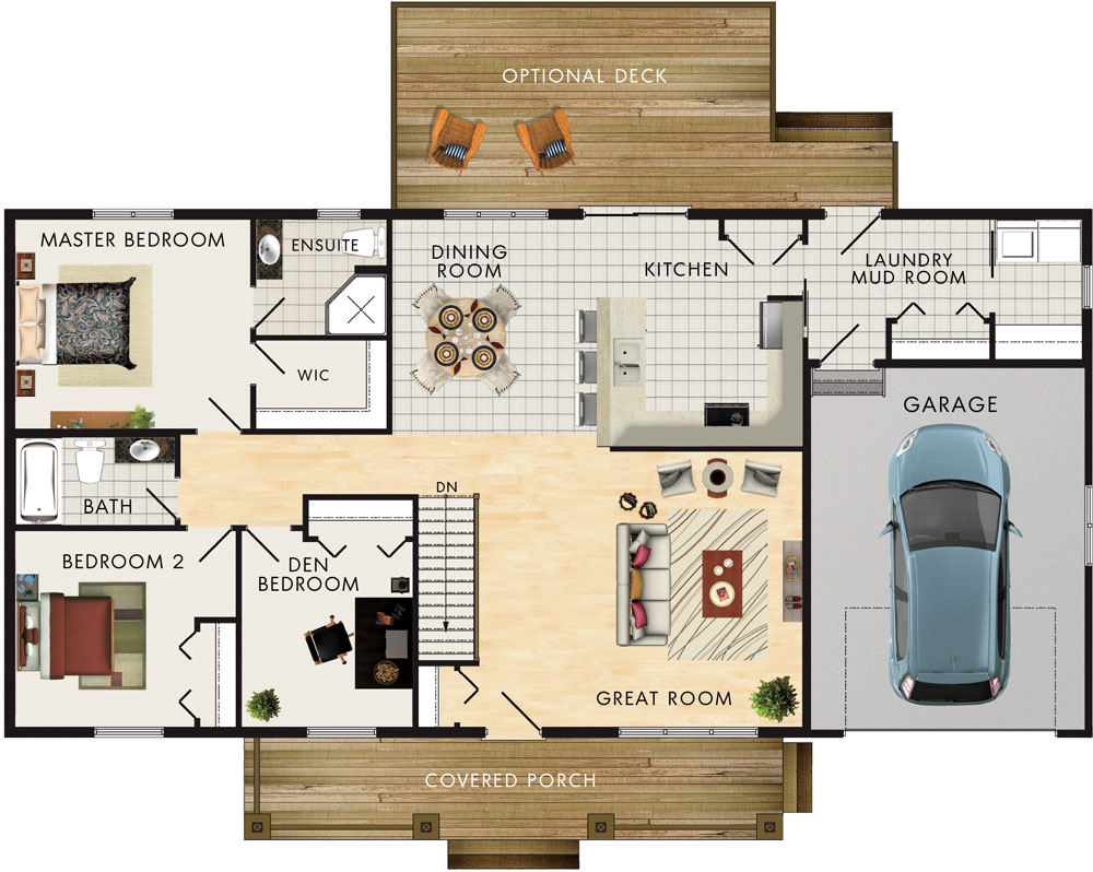 Kimberly II Floor Plan