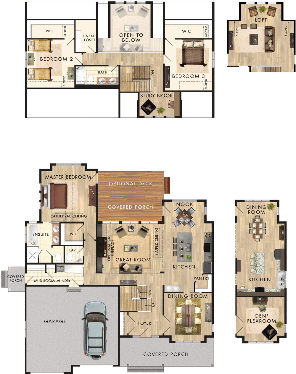 Killarney Floor Plan