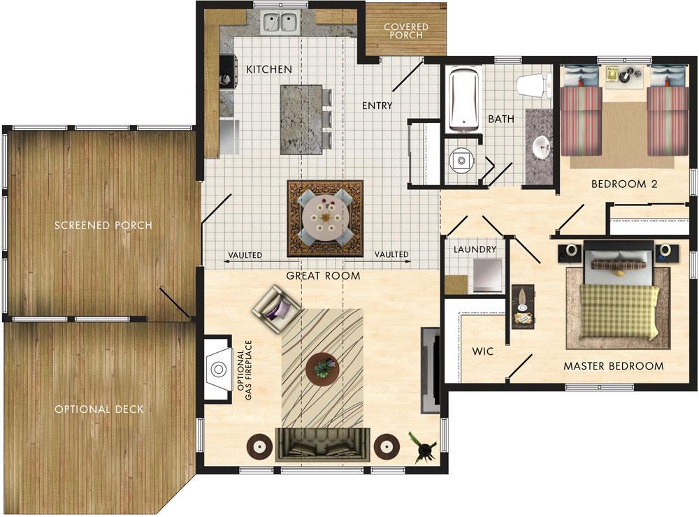 Lindhill I Floor Plan