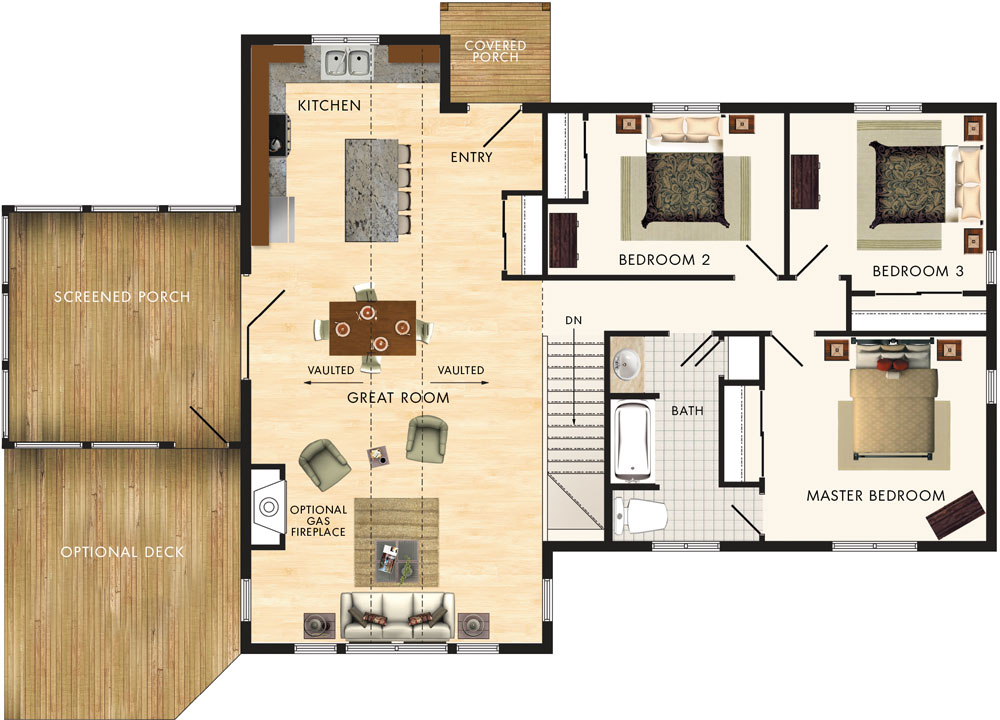 Beaver homes and cottages lindhill ii for Beaver home designs