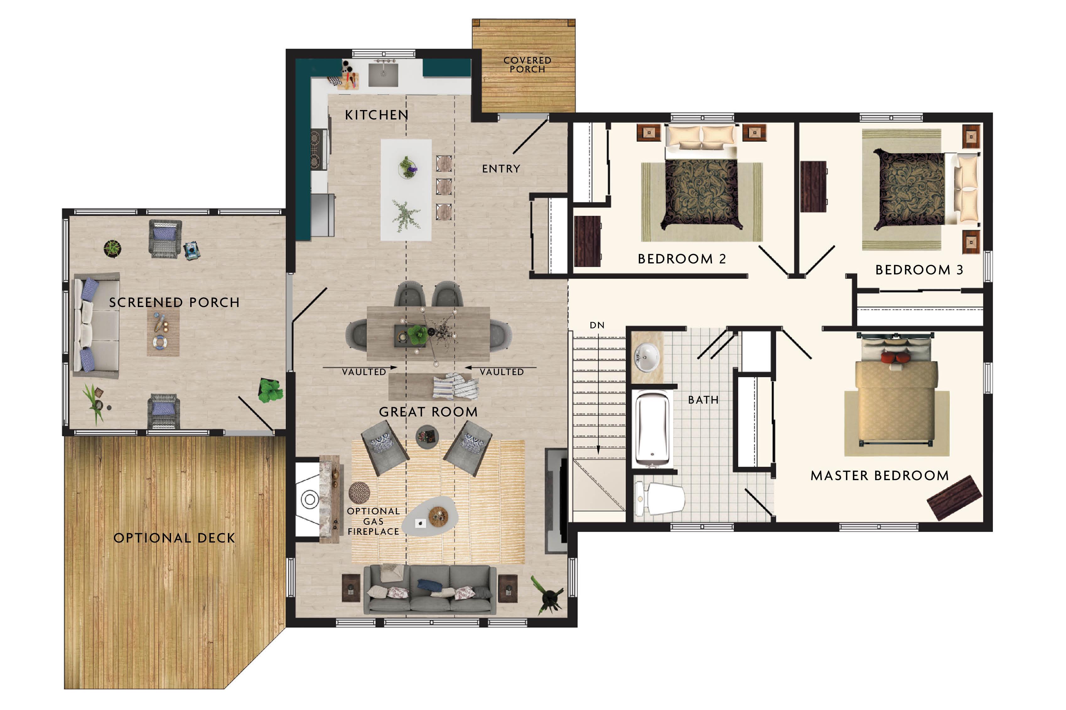 Lindhill II Floor Plan