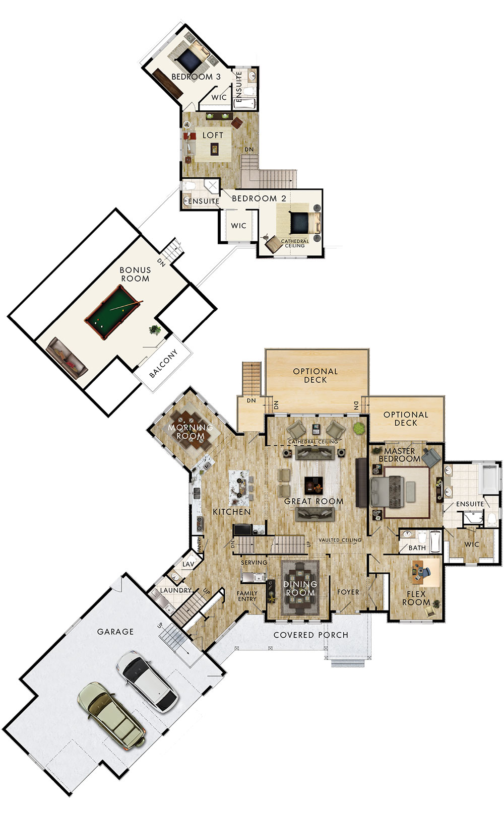 Arowhon Floor Plan