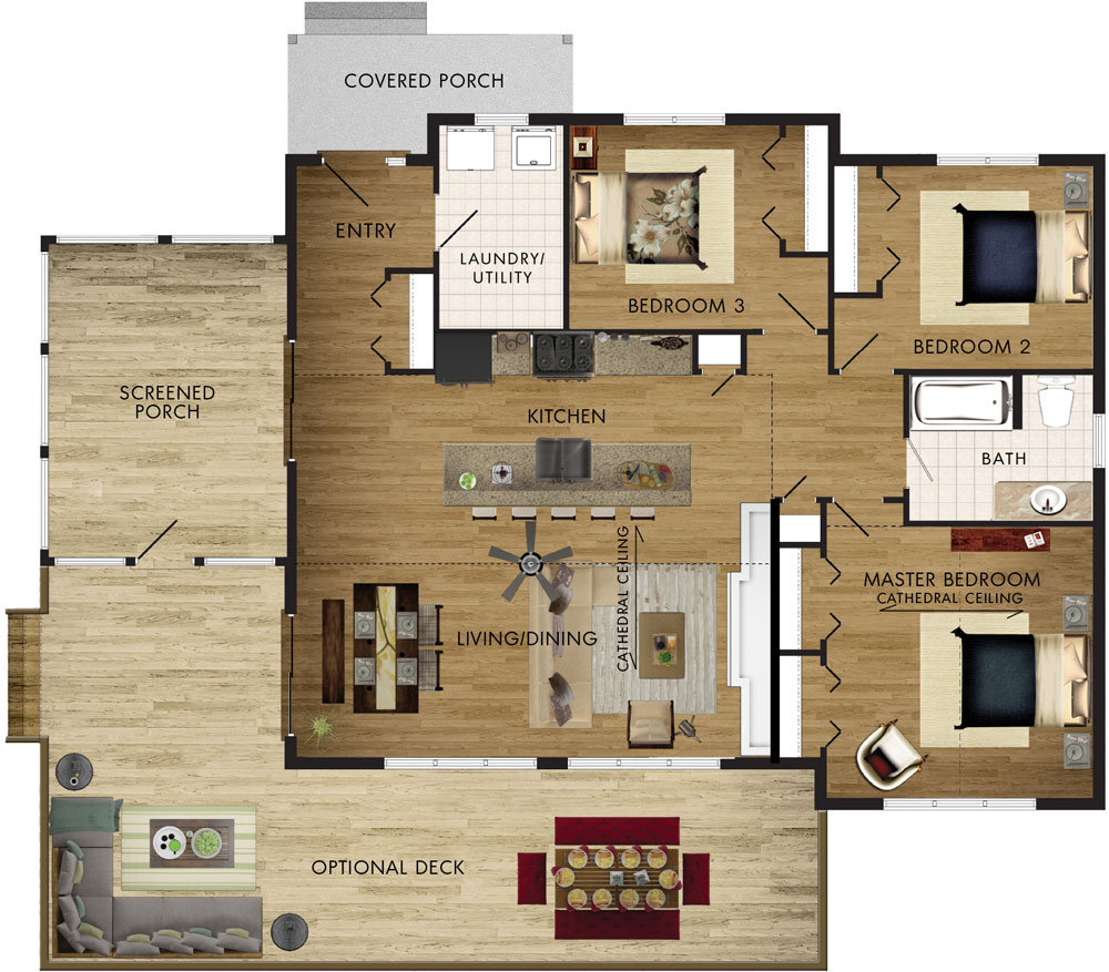 Lodgepole Floor Plan