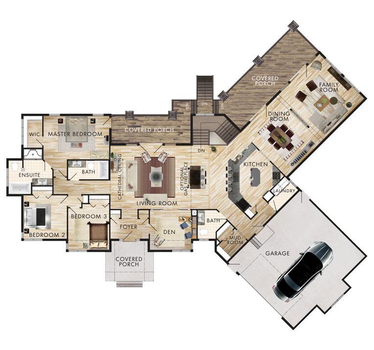 Prairie View Floor Plan