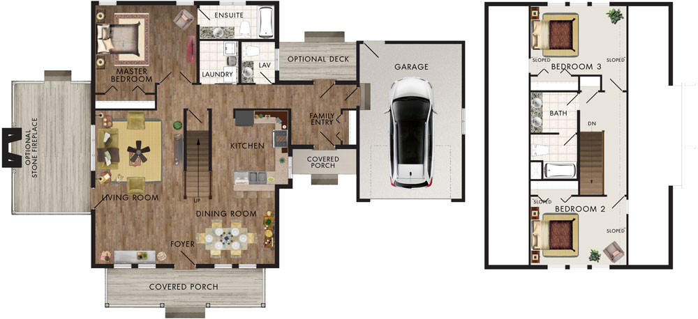 Hearthstone Floor Plan