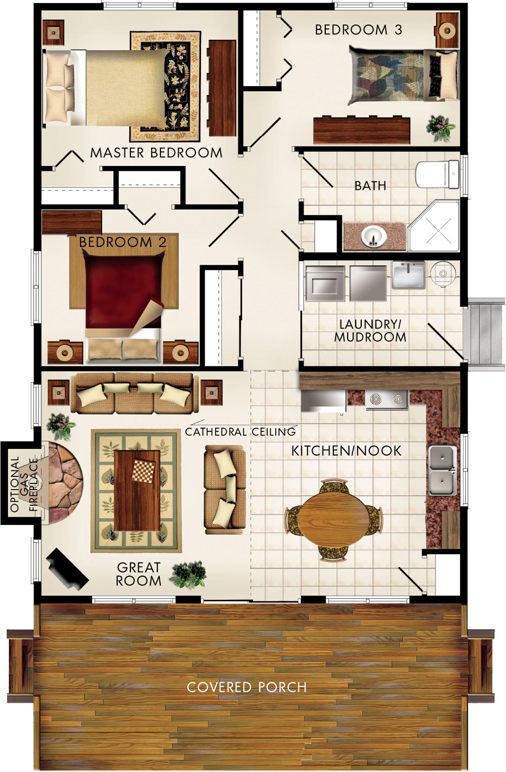 Baywood I Floor Plan