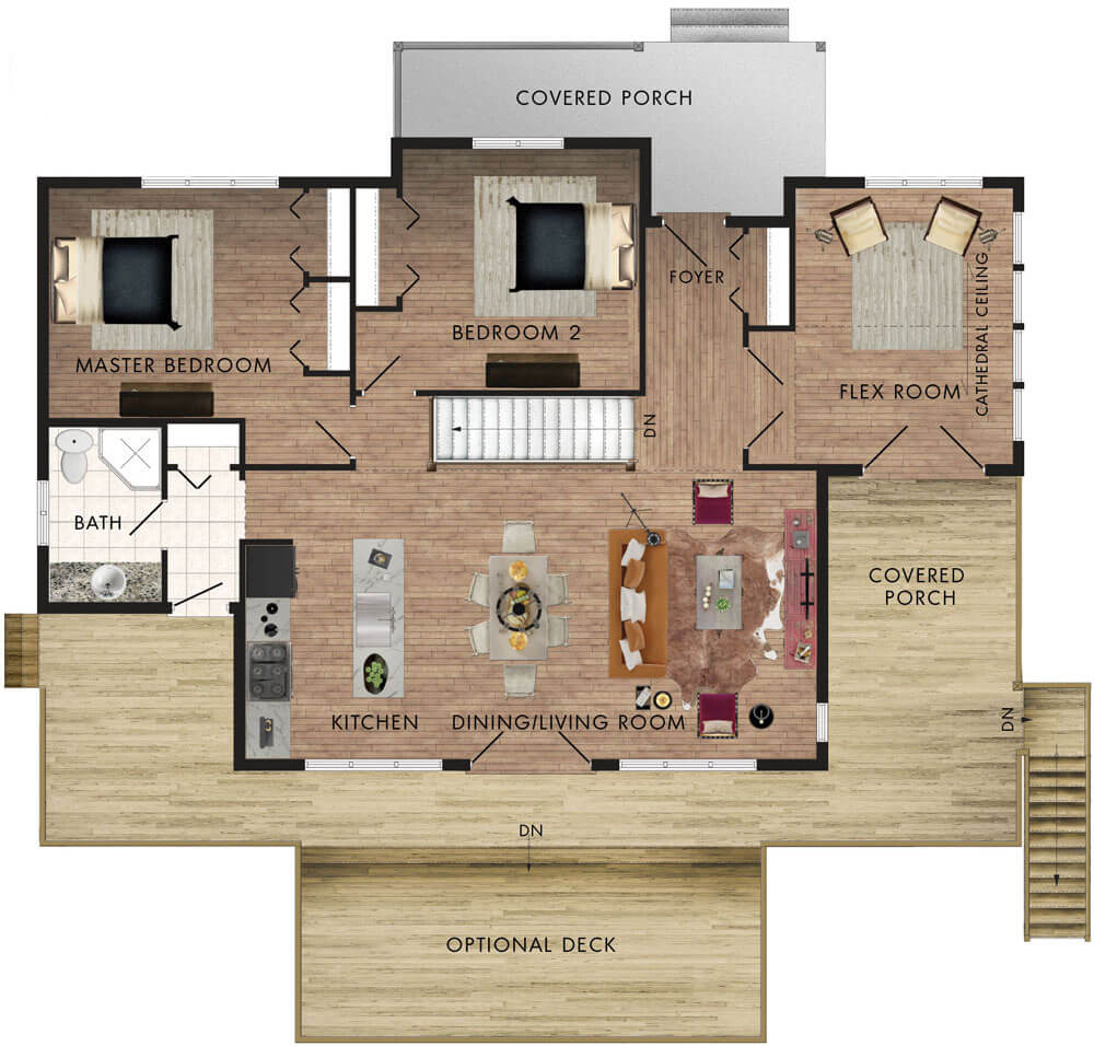Peppermill Floor Plan