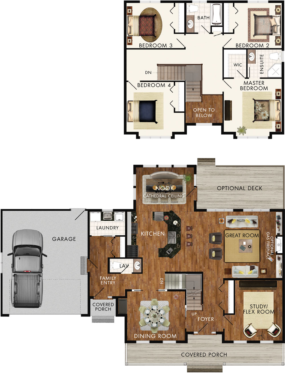 Delacombe Floor Plan
