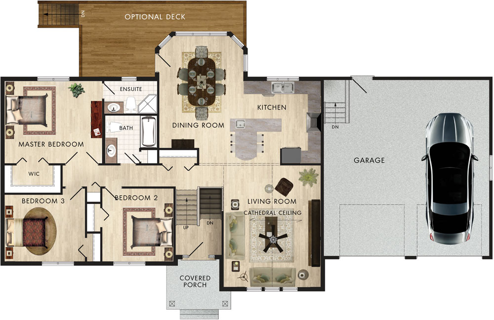 Woodridge III Floor Plan
