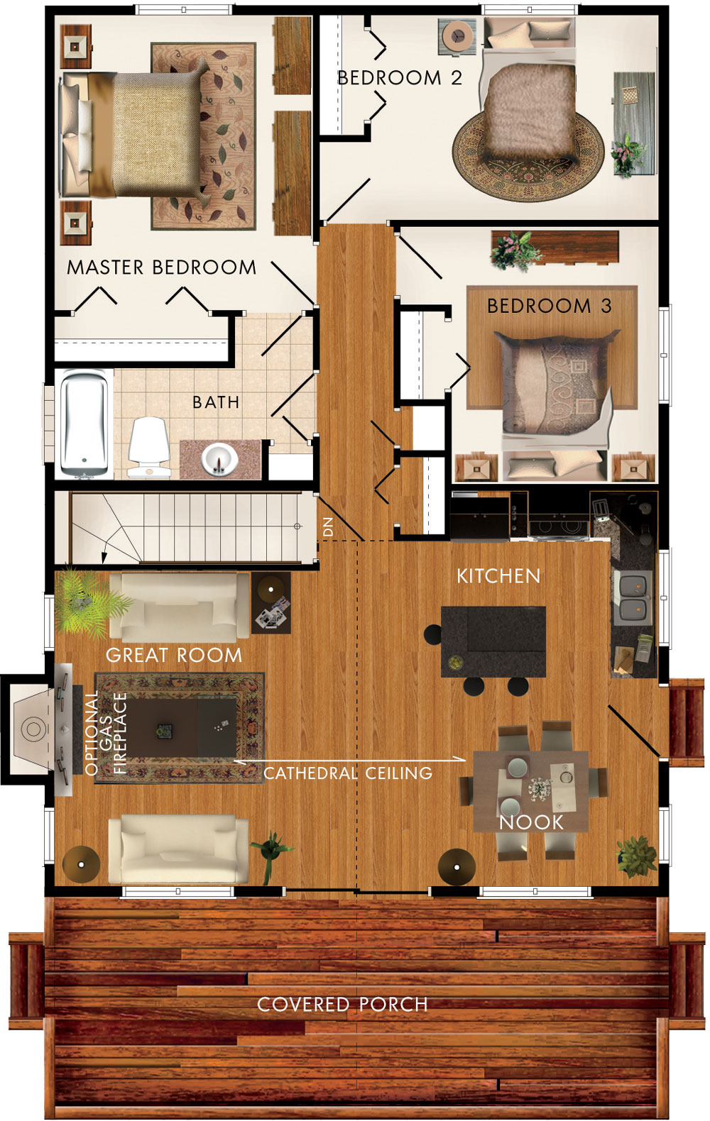 Baywood II Floor Plan