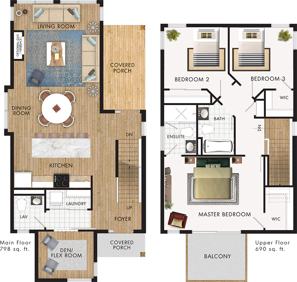 Saanich Floor Plan