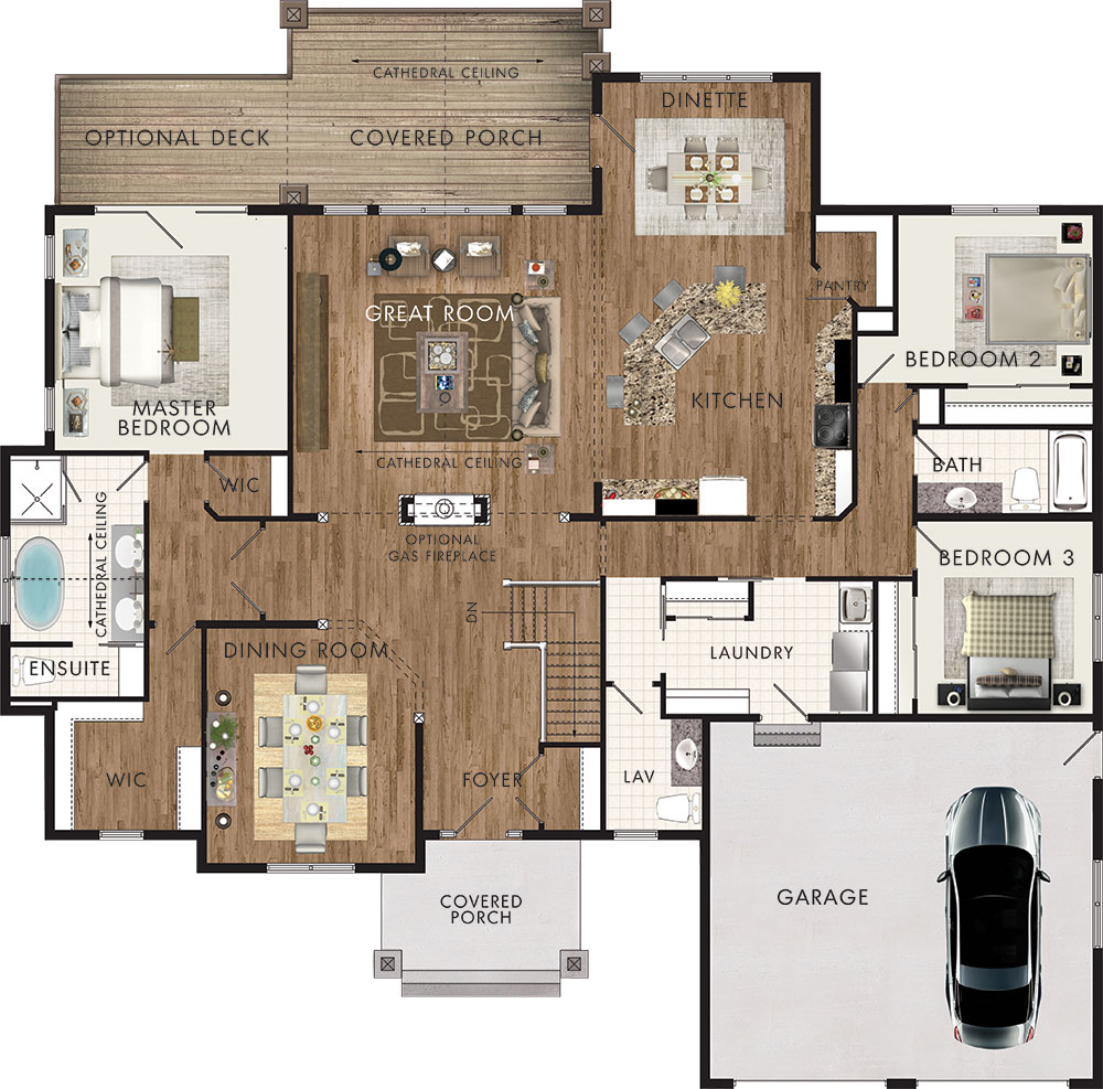 Chinook Floor Plan