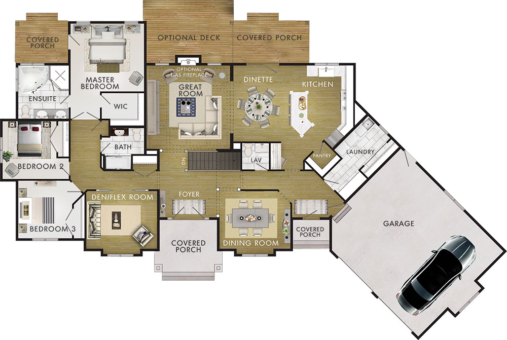 Bellamere Floor Plan