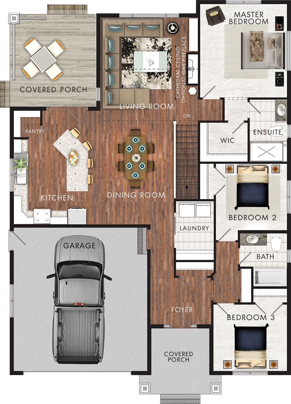 Brookside Floor Plan