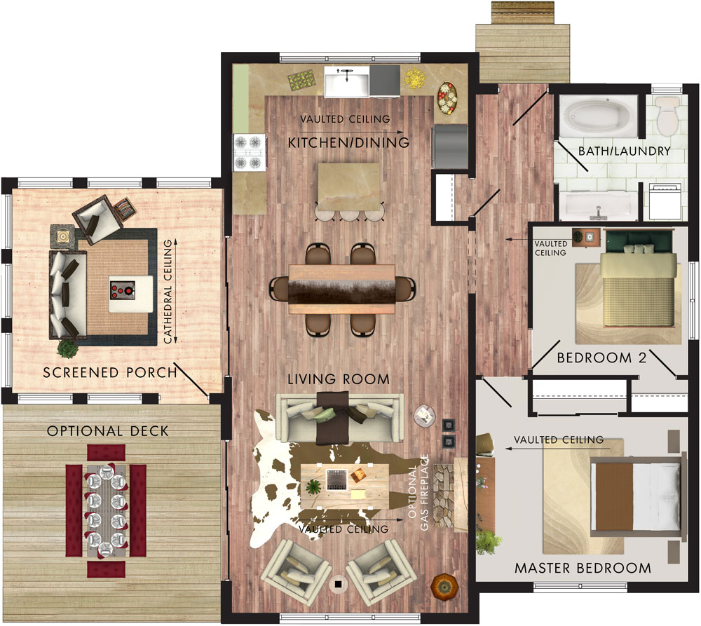 Borealis Floor Plan