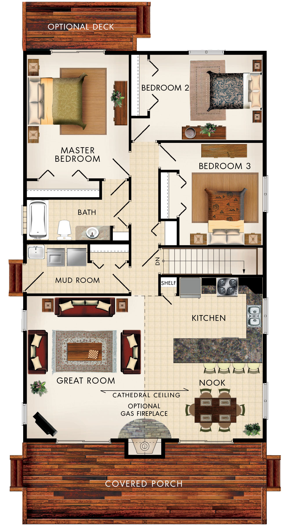 Baywood III Floor Plan