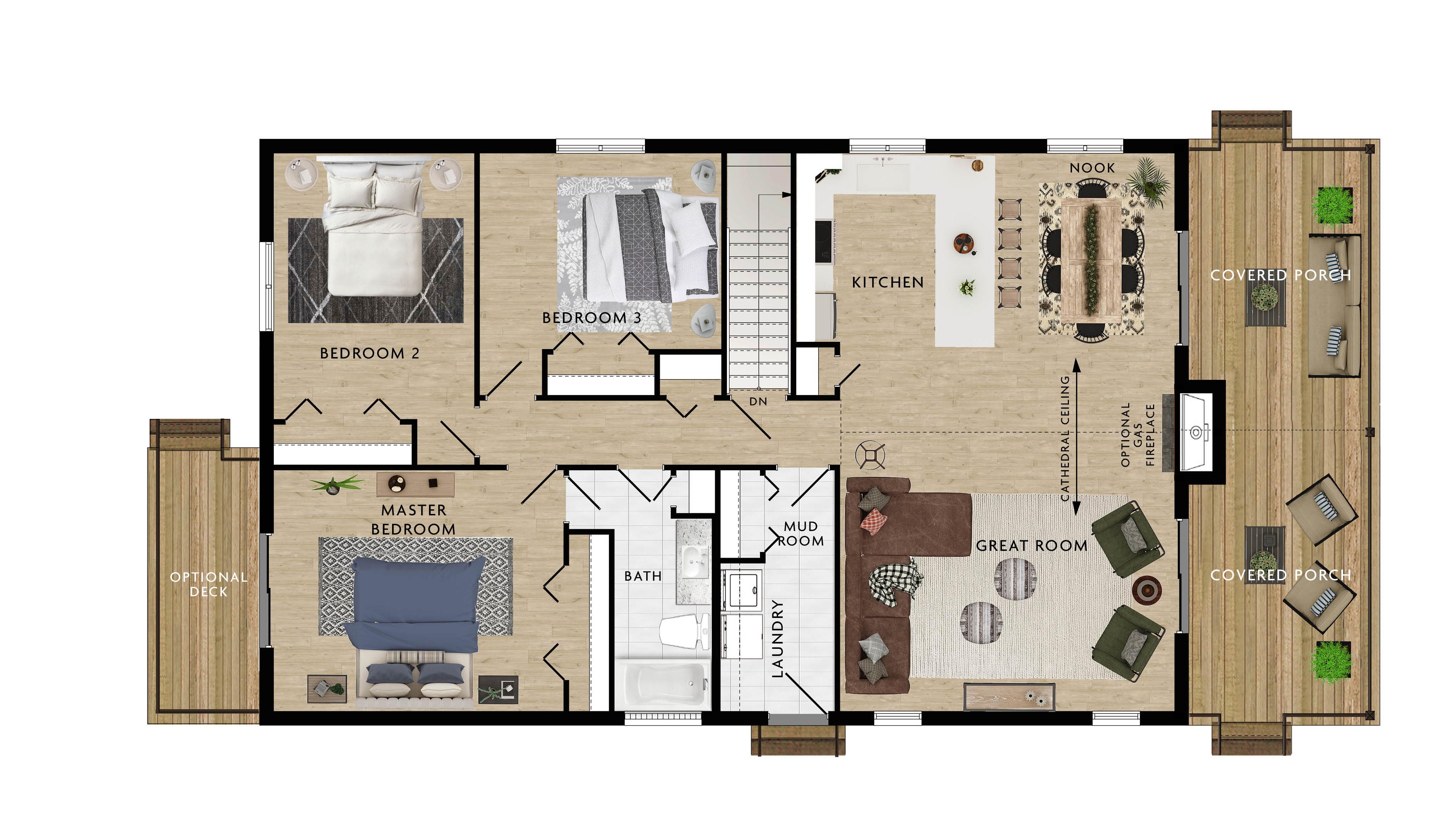 Baywood III Floor Plan