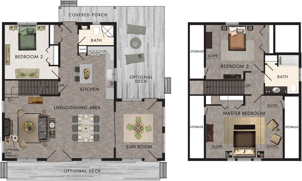 Oregon Floor Plan
