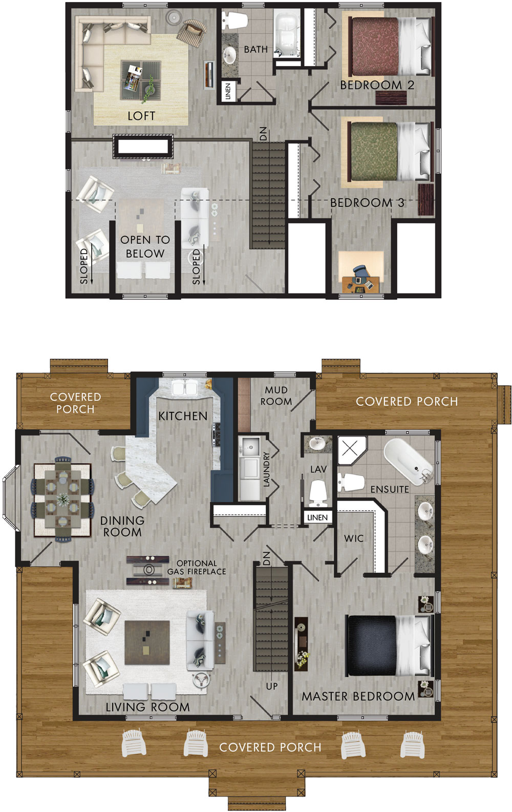 Whitetail Crossing Floor Plan