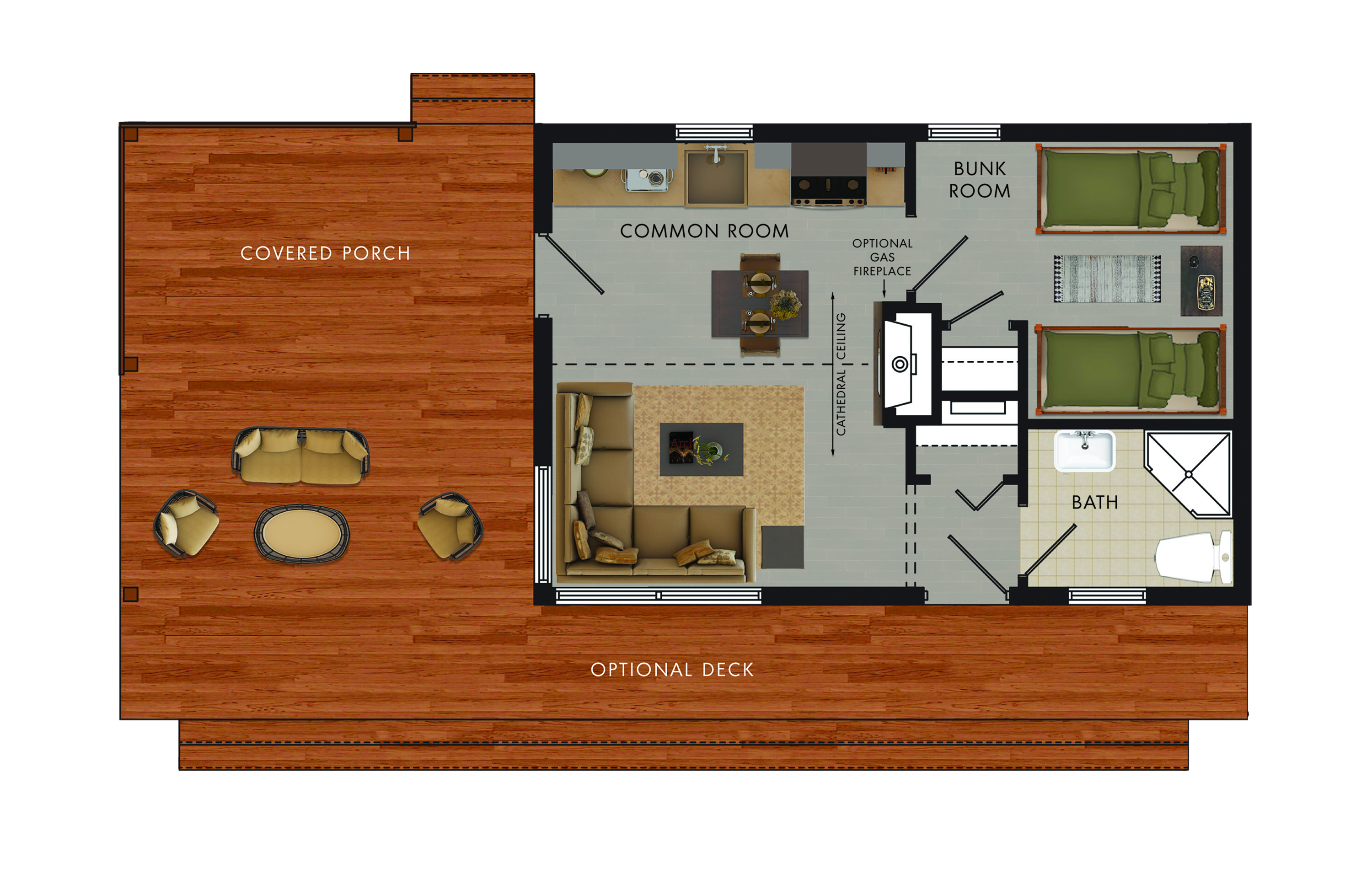 Yellow Tail I Floor Plan