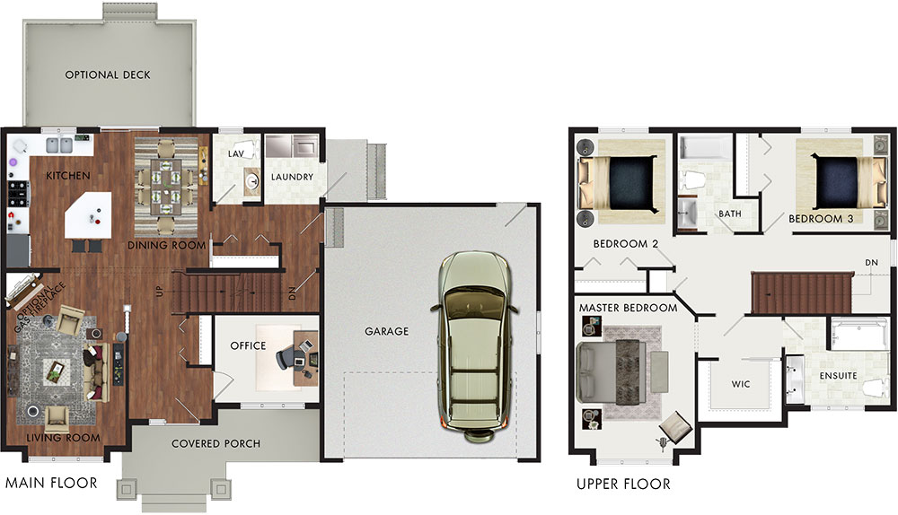 Beaver homes and cottages rosewood for Rosewood house plan