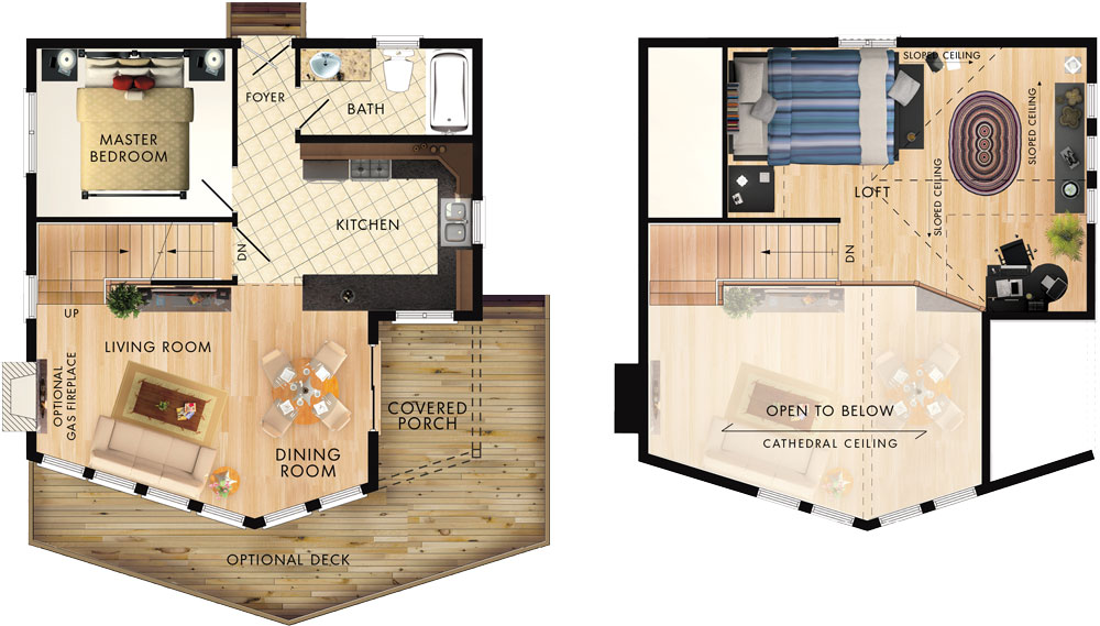 Beauport I Floor Plan