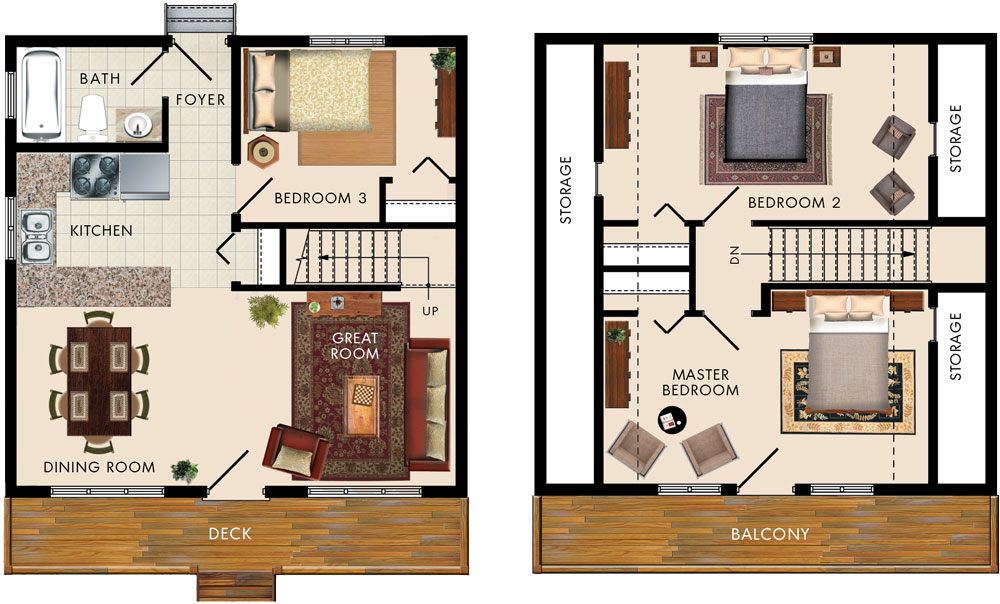 Caledon I Floor Plan