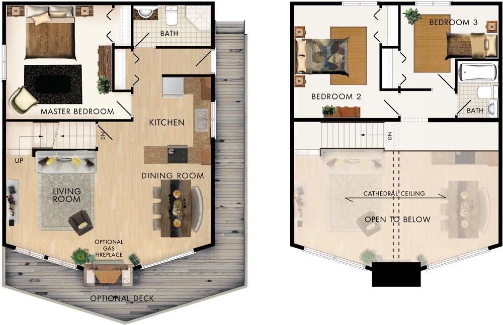 Trillium Floor Plan