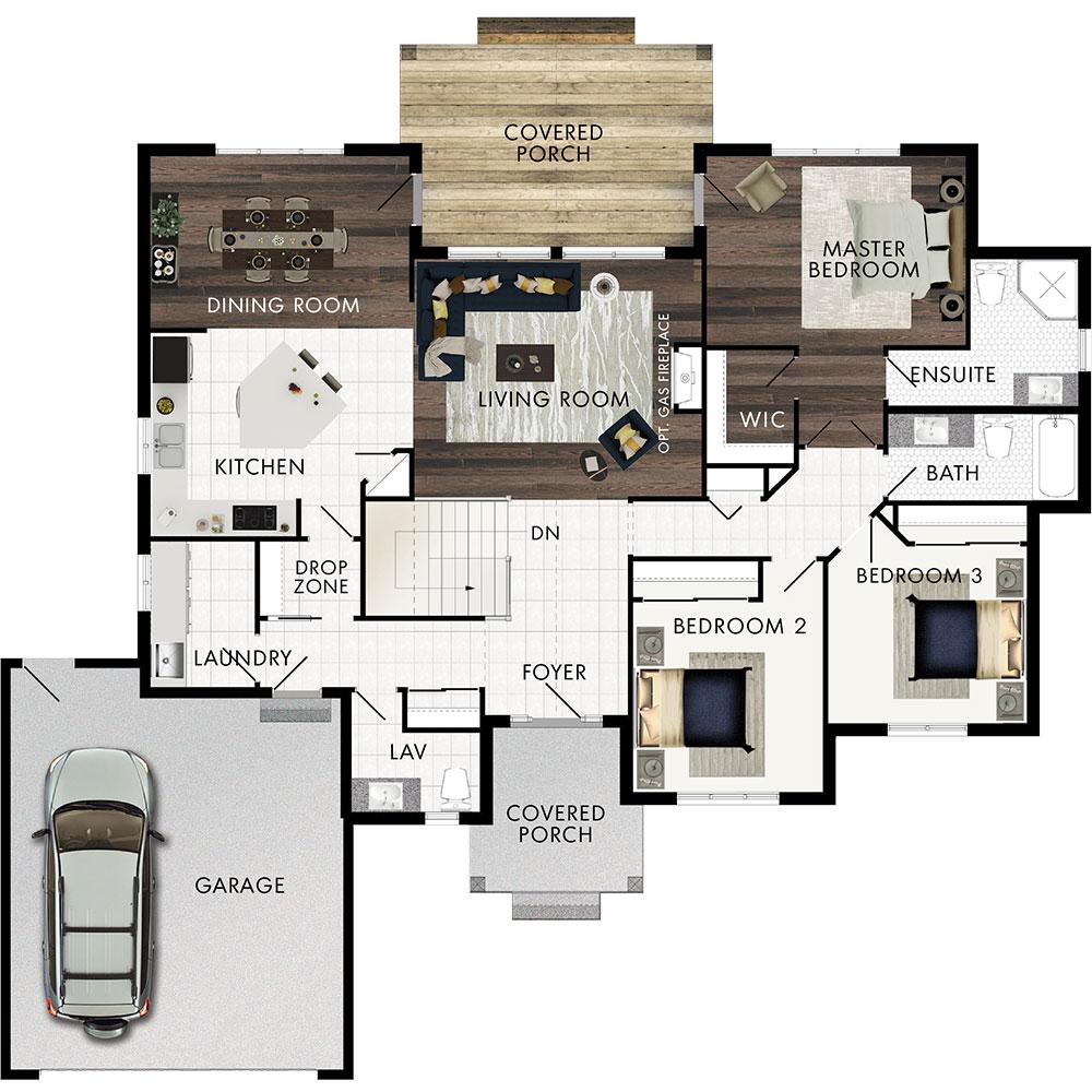 Arden Wood Floor Plan