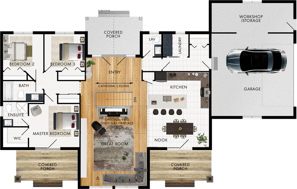 Kearney Floor Plan