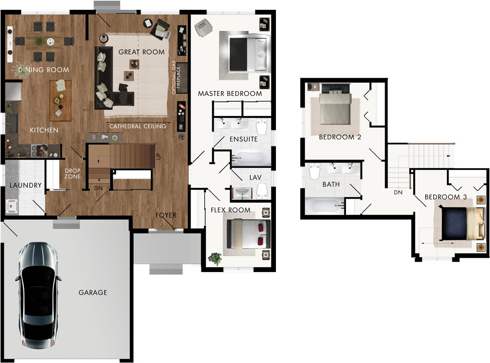 Haven Crest Floor Plan