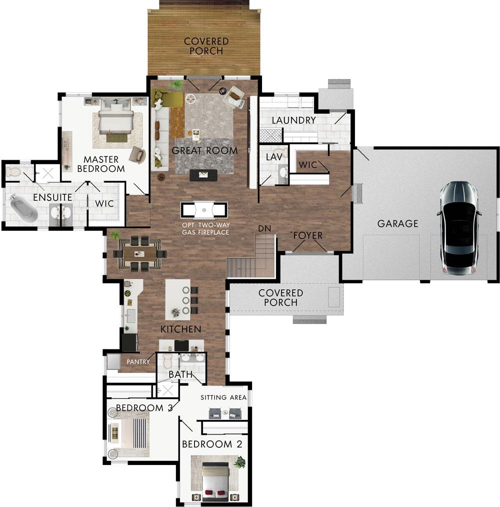 Monterra Floor Plan